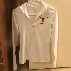 Nike University of Texas dry fit pullover